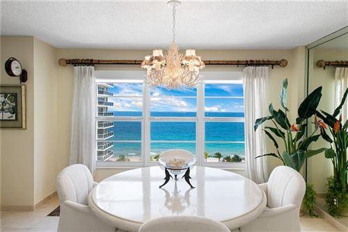 Photo of 3500 Galt Ocean Dr #706, Fort Lauderdale, FL 33308 (MLS # F10273959)