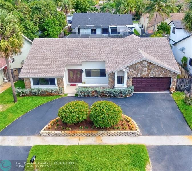 Photo of 7363 NW 47 Place, Lauderhill, FL 33319 (MLS # F10280960)