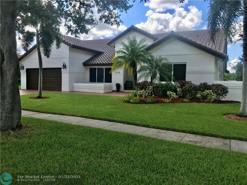 Photo of 1290 NW 161st Ave, Pembroke Pines, FL 33028 (MLS # F10293963)