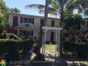 Photo of 806 NE 16th Pl #4, Fort Lauderdale, FL 33305 (MLS # F10151964)
