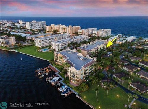 Photo of 1228 Hillsboro Mile #203, Hillsboro Beach, FL 33062 (MLS # F10257967)