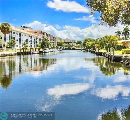 Photo of 1439 S Ocean Blvd #114, Pompano Beach, FL 33062 (MLS # F10283968)