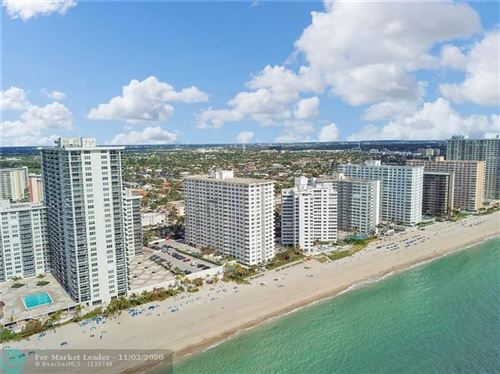Photo of 3550 Galt Ocean Dr #406, Fort Lauderdale, FL 33308 (MLS # F10256970)