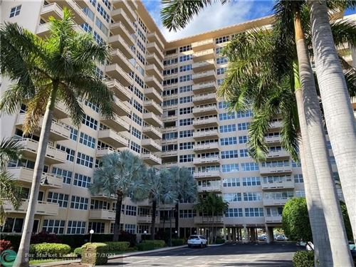 Photo of 3333 NE 34th St #812, Fort Lauderdale, FL 33308 (MLS # F10305971)