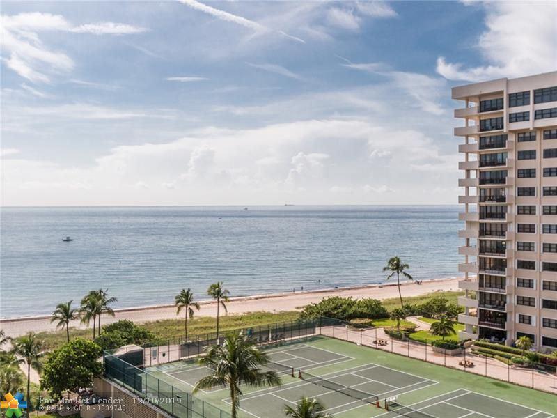 5200 N Ocean Blvd #1015, Lauderdale by the Sea, FL 33308 - #: F10203971