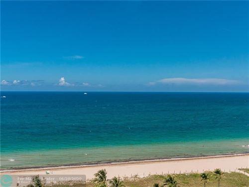 Photo of 5200 N Ocean Blvd #1609D, Lauderdale By The Sea, FL 33308 (MLS # F10235974)