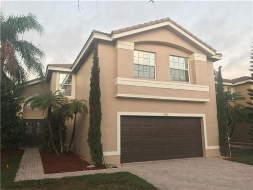 Photo of 2950 SW 163rd Ave, Miramar, FL 33027 (MLS # F10267974)