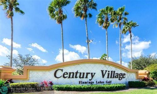 Photo of 13155 SW 7th Ct #306E, Pembroke Pines, FL 33027 (MLS # F10304974)
