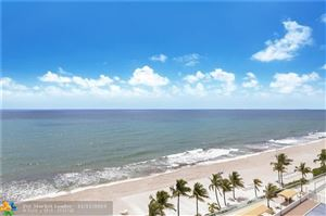 Photo of 4010 Galt Ocean Dr #1010, Fort Lauderdale, FL 33308 (MLS # F10201976)
