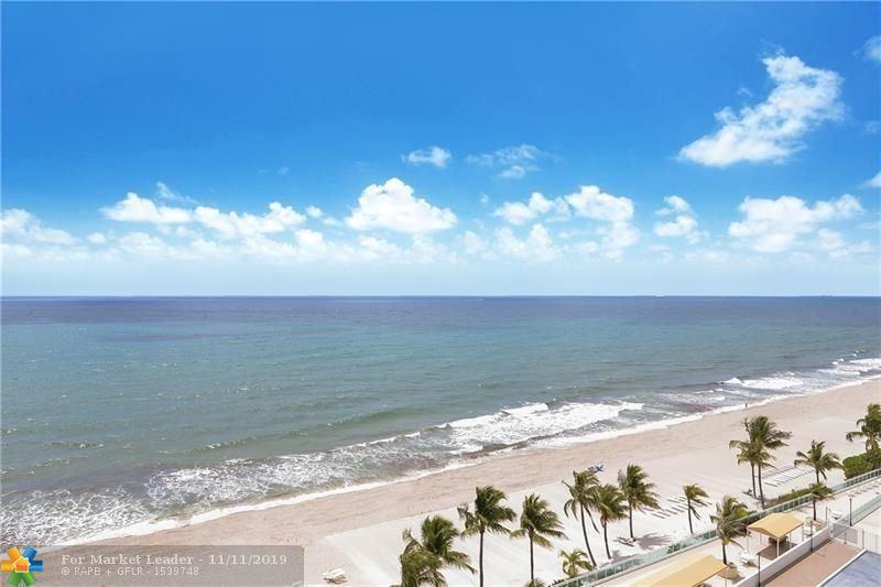 Photo of 4010 Galt Ocean Dr #1010, Fort Lauderdale, FL 33308 (MLS # F10201976)