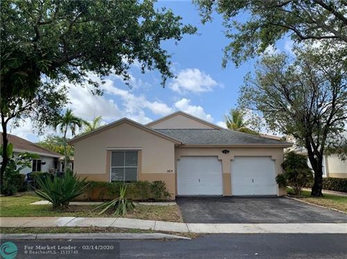Photo of 20724 NW 3rd Ct, Pembroke Pines, FL 33029 (MLS # F10219978)