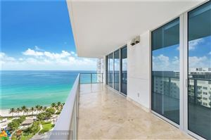 Photo of 3101 S Ocean Dr #1801, Hollywood, FL 33019 (MLS # F10202981)
