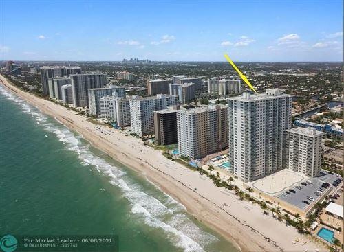 Photo of 3900 Galt Ocean Dr #303, Fort Lauderdale, FL 33308 (MLS # F10287982)