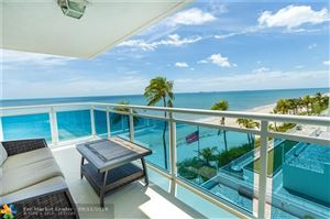 Photo of 3430 Galt Ocean Dr #507, Fort Lauderdale, FL 33308 (MLS # F10191984)