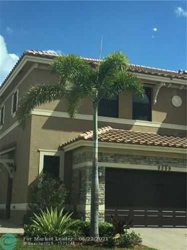 Photo of 9599 Town Parc Cir N #9599, Parkland, FL 33076 (MLS # F10289986)