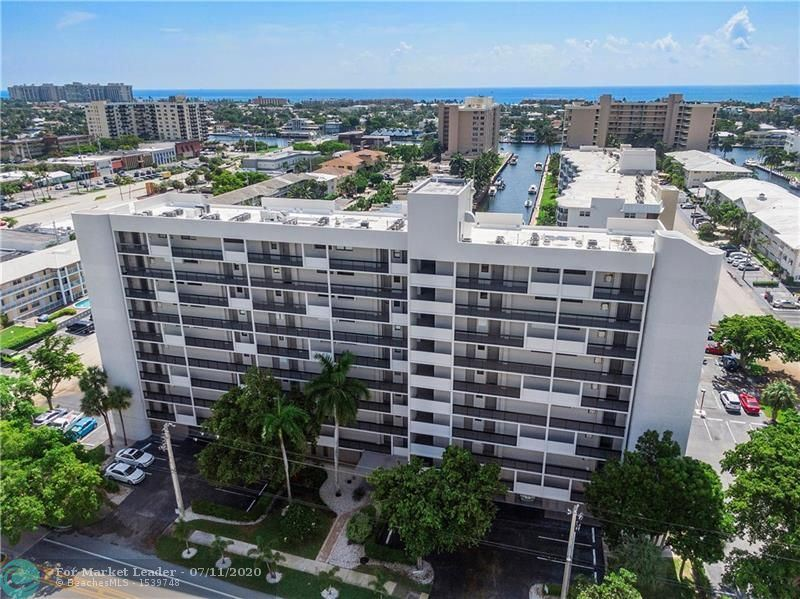 Photo of 4800 Bayview Dr #604, Fort Lauderdale, FL 33308 (MLS # F10237986)