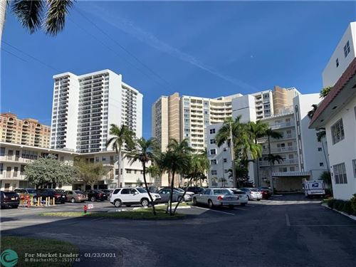 Photo of 3181 S Ocean Dr #107, Hallandale, FL 33009 (MLS # F10267988)