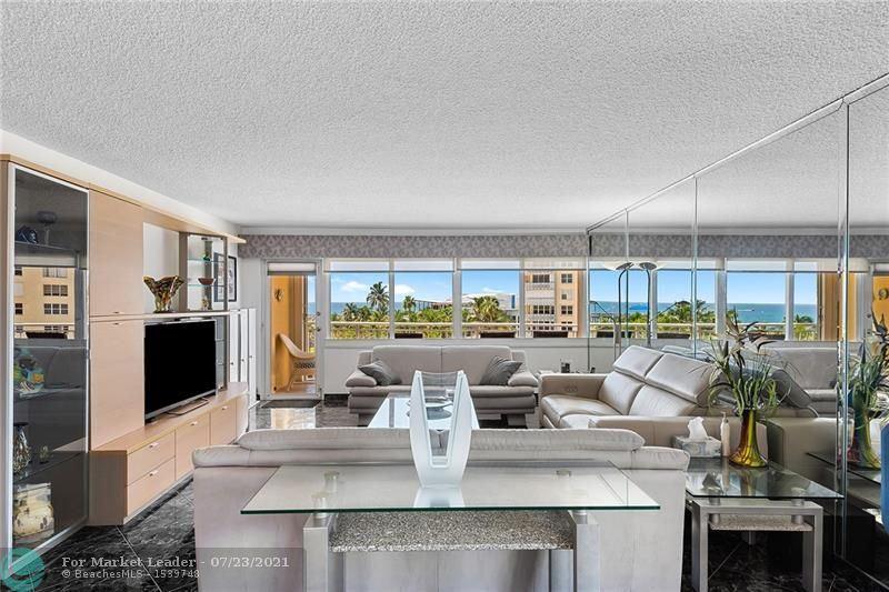 Photo of 328 N Ocean Blvd #508, Pompano Beach, FL 33062 (MLS # F10293988)