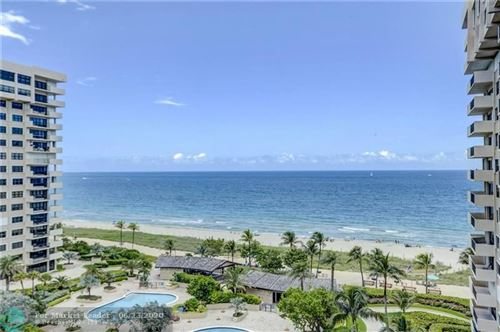 Photo of 4900 N Ocean Blvd #1010, Lauderdale By The Sea, FL 33308 (MLS # F10234989)