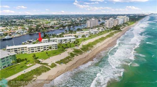 Photo of 1039 Hillsboro Mile #9, Hillsboro Beach, FL 33062 (MLS # F10256989)