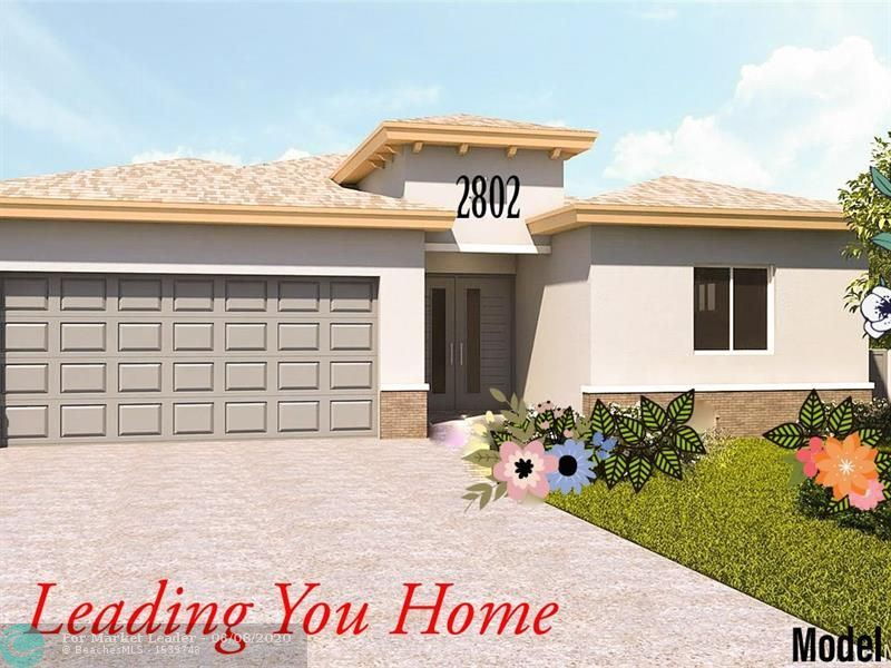 Photo for 2802 Washington Dr, Fort Lauderdale, FL 33311 (MLS # F10221989)