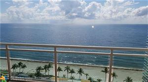 Photo of 3900 Galt Ocean Dr #1611, Fort Lauderdale, FL 33308 (MLS # F10174990)