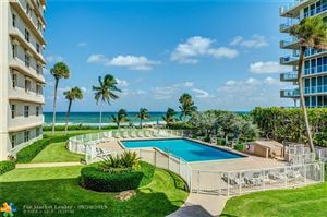 Photo of 1069 Hillsboro Mile #207, Hillsboro Beach, FL 33062 (MLS # F10184992)
