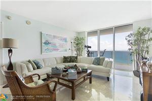 Photo of 1850 S Ocean Dr #4202, Hallandale, FL 33009 (MLS # F10191993)