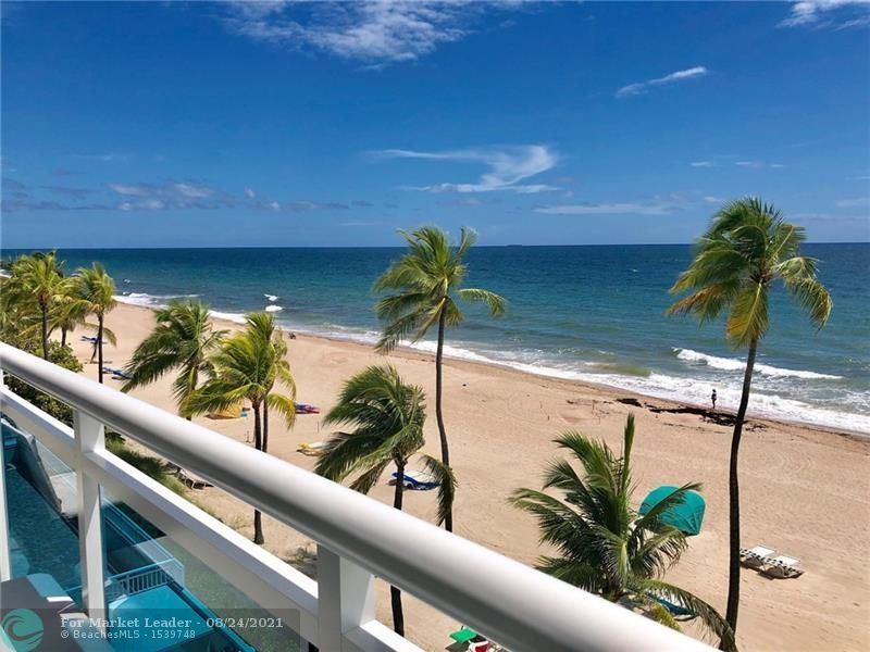 Photo of 3430 Galt Ocean Dr #407, Fort Lauderdale, FL 33308 (MLS # F10297994)