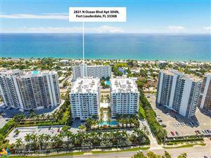 Tiny photo for 2831 N Ocean Blvd #304N, Fort Lauderdale, FL 33308 (MLS # F10175995)