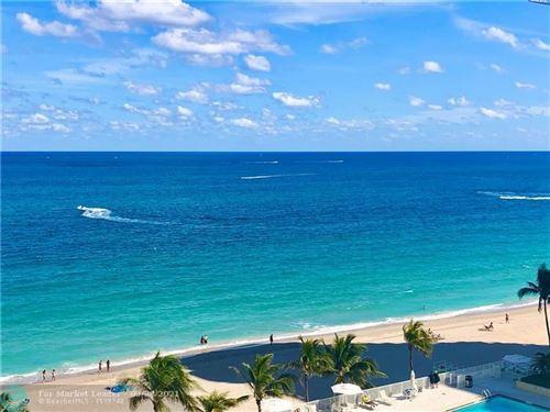 Photo of 4300 N Ocean Blvd #9k, Fort Lauderdale, FL 33308 (MLS # F10273998)