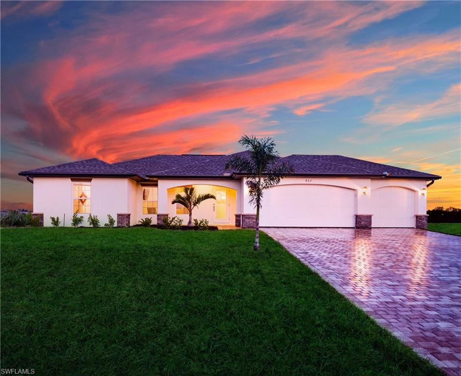 4724 NW 39th Place, Cape Coral, FL 33993 - #: 221050007