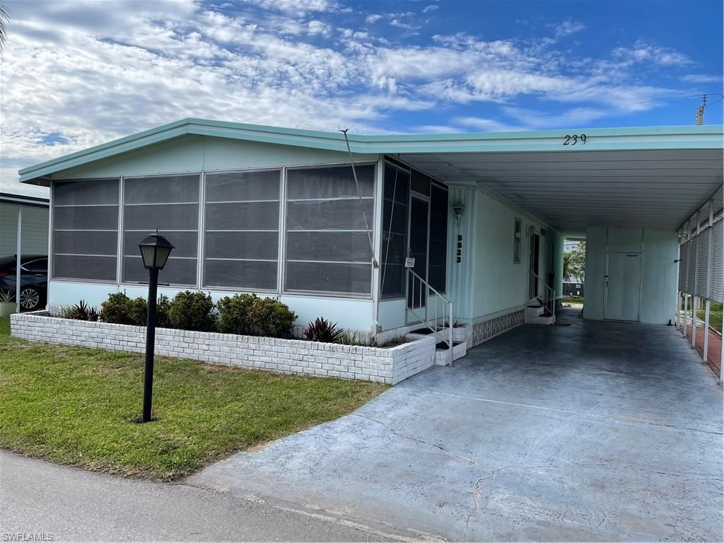 5523 Colonial Road #239, North Fort Myers, FL 33917 - MLS#: 221030022