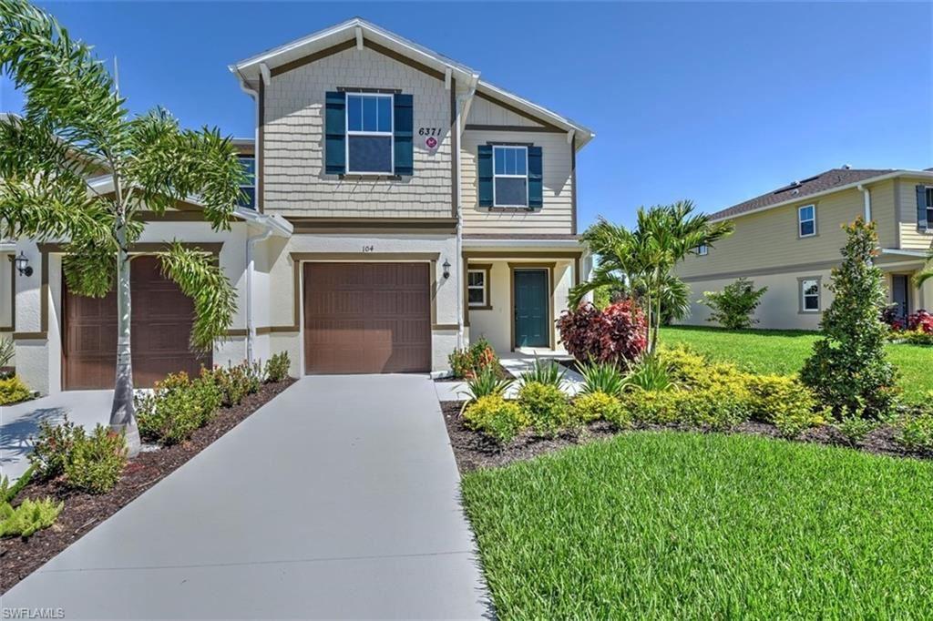 6371 Brant Bay Boulevard #104, North Fort Myers, FL 33917 - #: 219044026