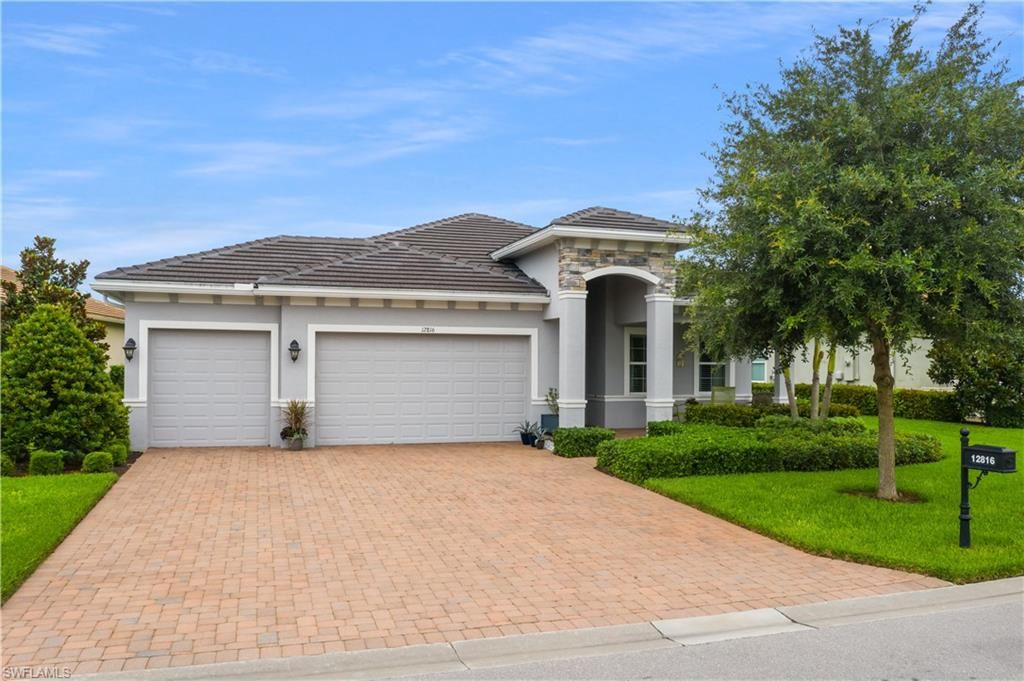12816 Fairway Cove Court, Fort Myers, FL 33905 - #: 220036078