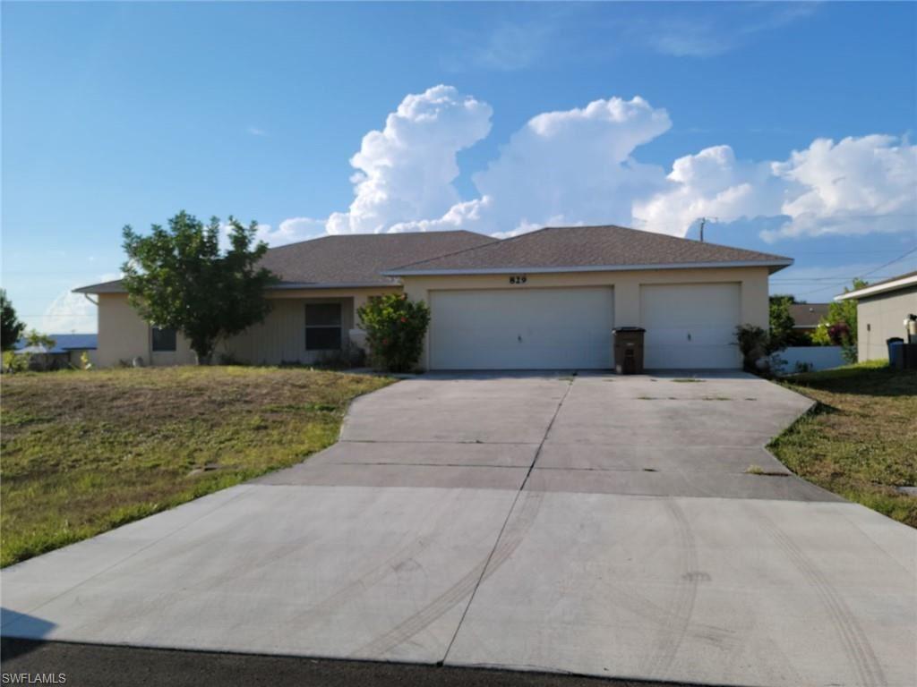829 NE 9th Terrace, Cape Coral, FL 33909 - #: 221040256