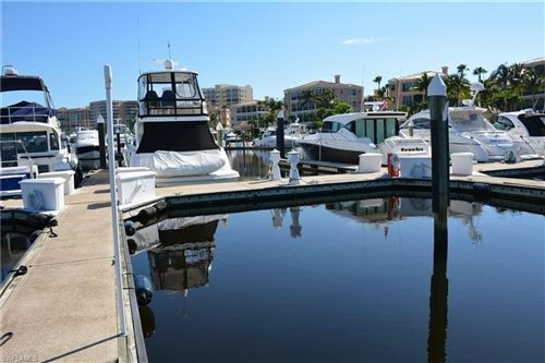 Photo of 50 Ft. Boat Slip at Gulf Harbour E-24, FORT MYERS, FL 33908 (MLS # 219037271)