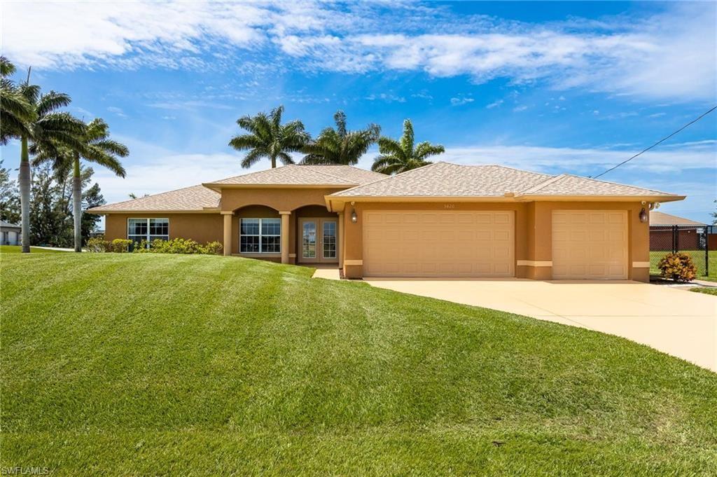 3420 NW 45th Avenue, Cape Coral, FL 33993 - #: 221063351