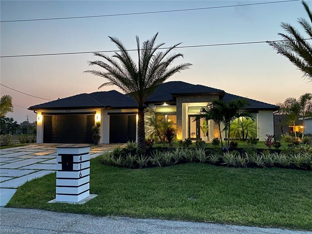 416 NW 35th Place, Cape Coral, FL 33993 - MLS#: 219084393