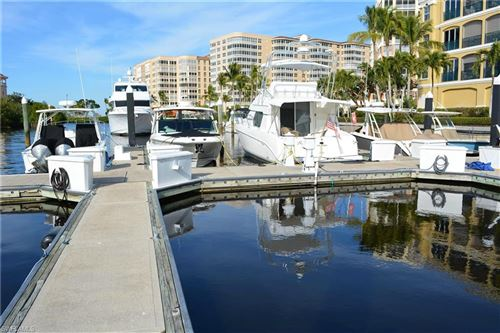 Photo of 38 Ft. Boat Slip at Gulf Harbour I-11, FORT MYERS, FL 33908 (MLS # 218006422)
