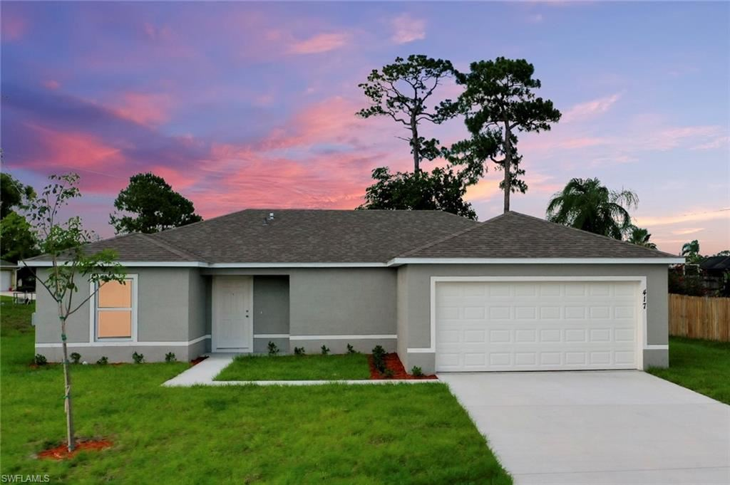 3809 24th Street SW, Lehigh Acres, FL 33976 - #: 221009453