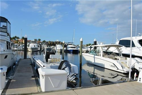 Photo of 48 Ft. Boat Slip at Gulf Harbour F-20, FORT MYERS, FL 33908 (MLS # 218025670)