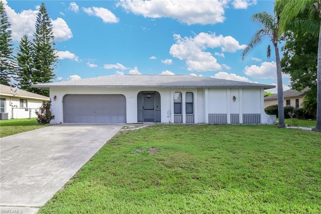 419 SW 34th Street, Cape Coral, FL 33914 - #: 220042672