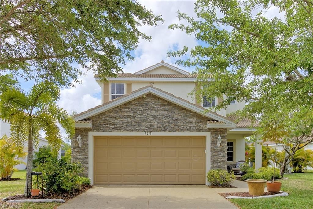 2743 Blue Cypress Lake Court, Cape Coral, FL 33909 - #: 221023726