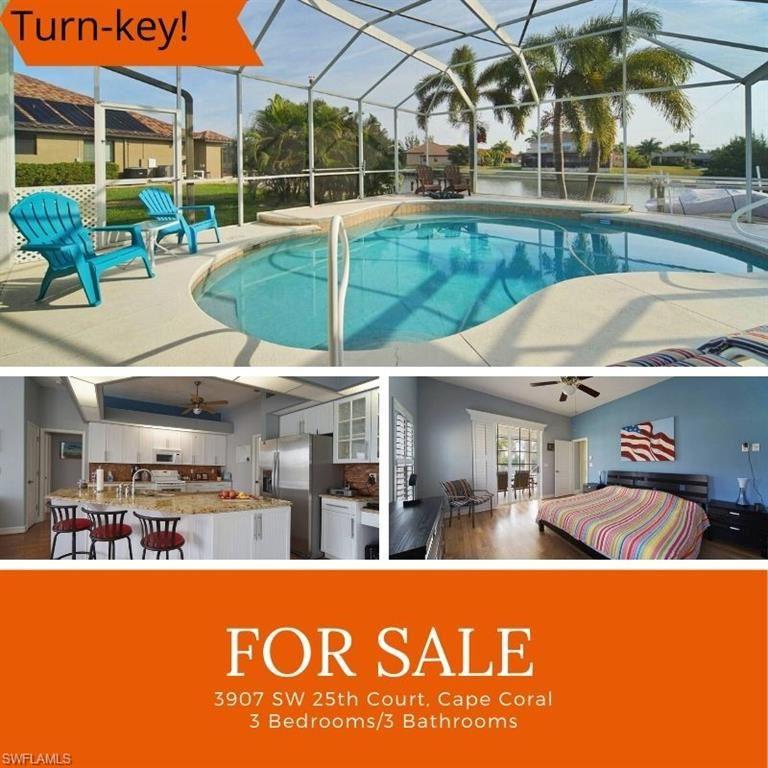 3907 SW 25th Court, Cape Coral, FL 33914 - #: 220000789