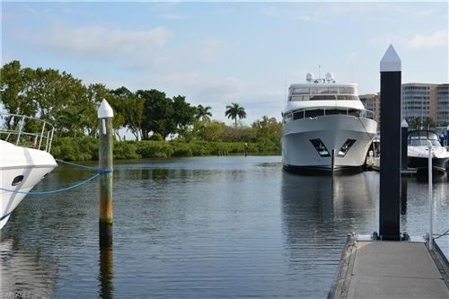Photo of 50 Ft Boat Slip at Gulf Harbour E-14, FORT MYERS, FL 33908 (MLS # 218041949)