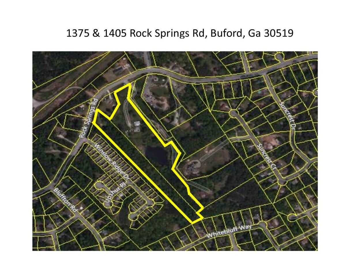 1405 Rock Springs Rd, Buford, GA 30519 - MLS#: 8856281