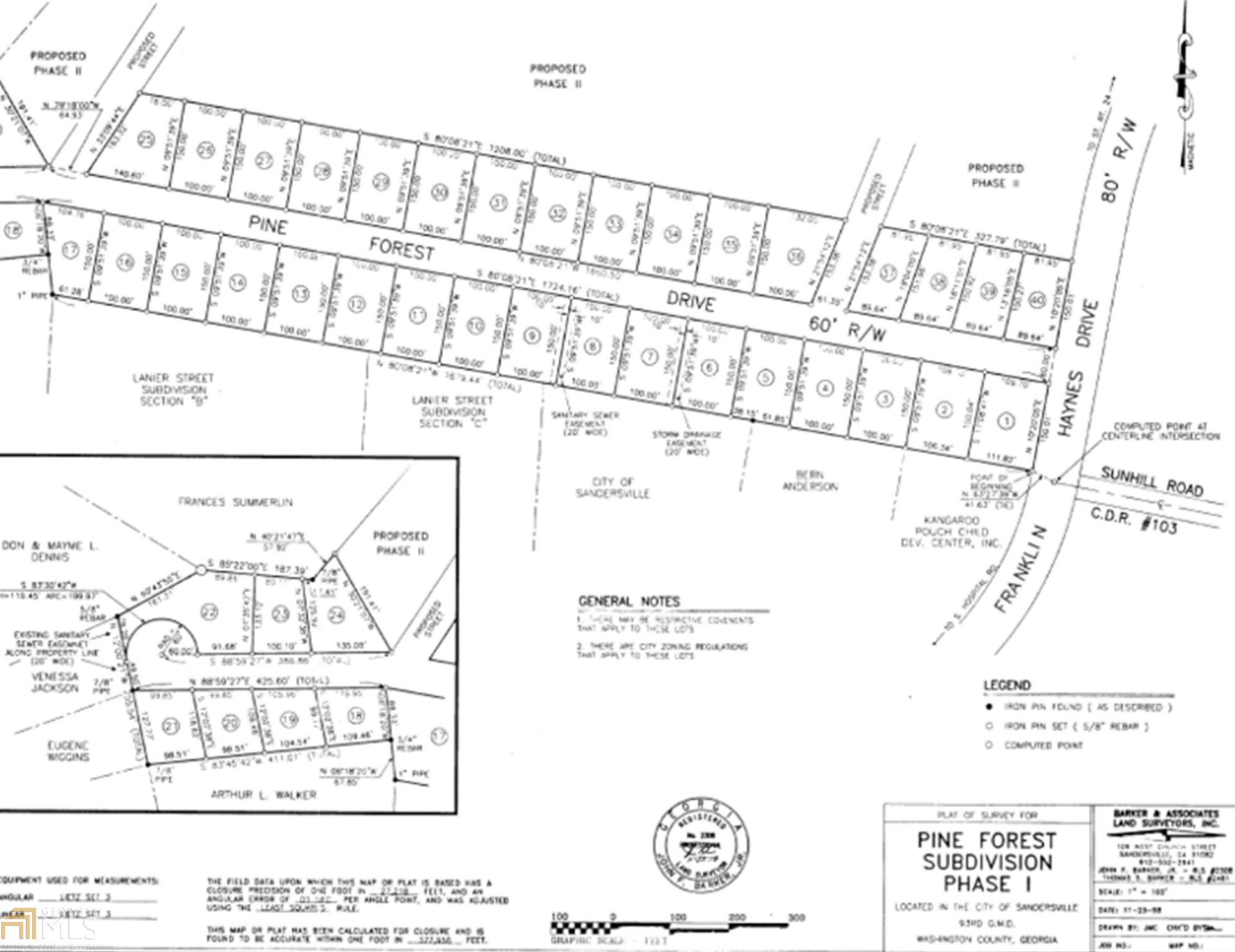 Photo of 207 Pine Forest Dr, Sandersville, GA 31082 (MLS # 8909617)
