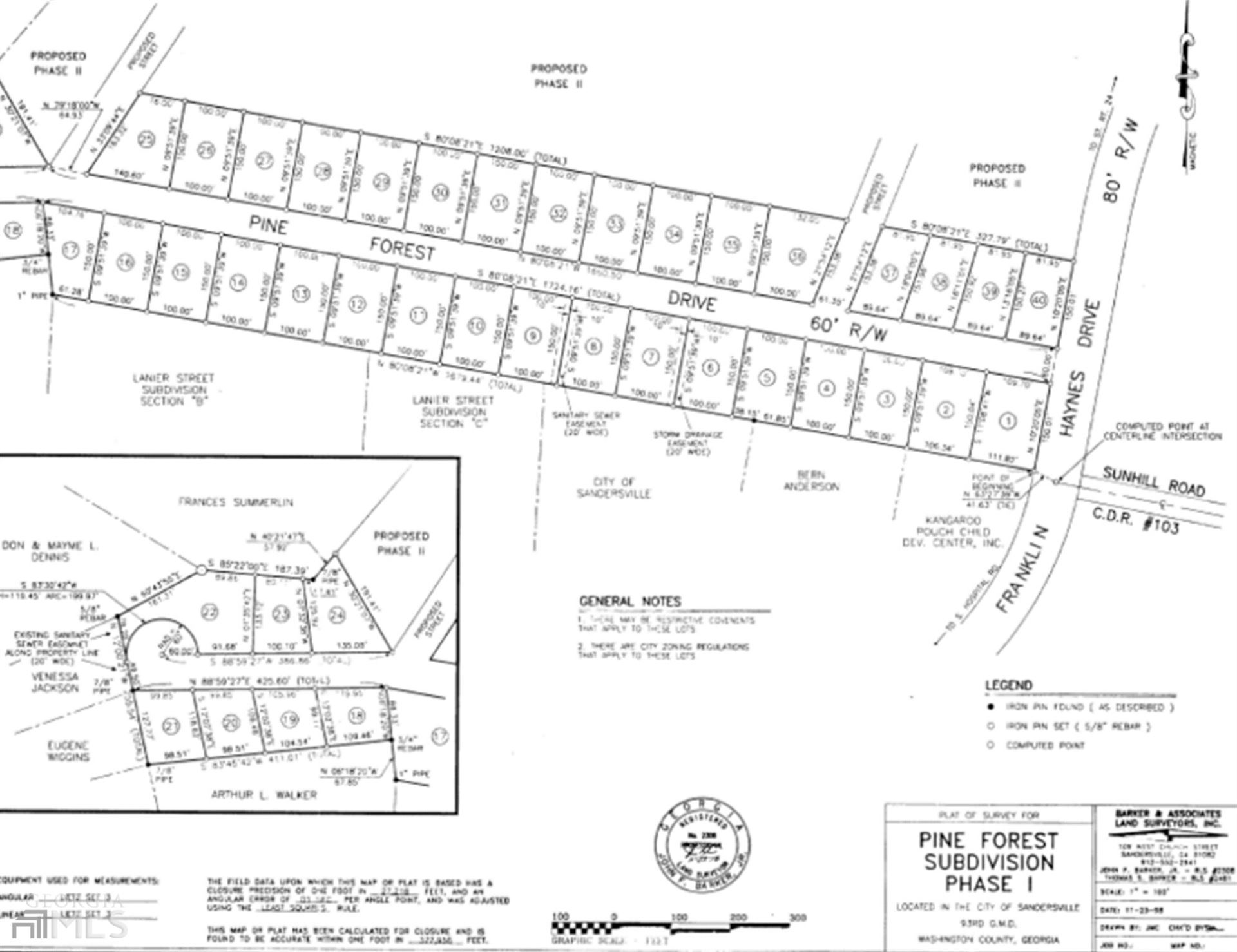 Photo of 105 Pine Forest Dr, Sandersville, GA 31082 (MLS # 8909621)