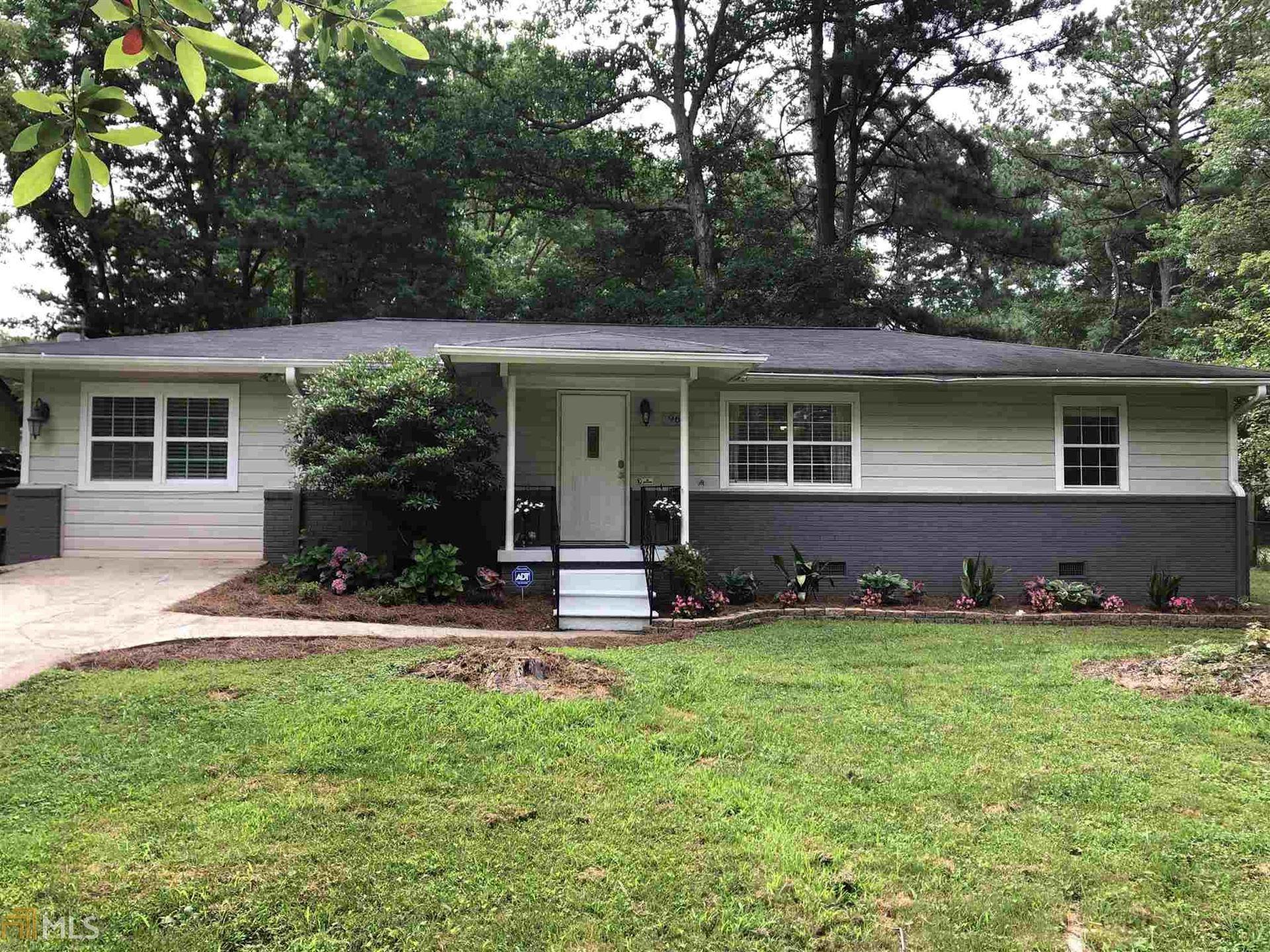 968 Pine Valley, Marietta, GA 30062 - #: 8817662